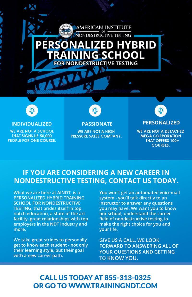 Ndt Testimonials American Institute Of Ndt Training 855 313 0325