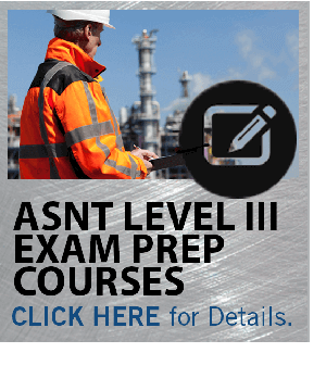 NDT Continuing Education Courses | ASNT Level III Prep
