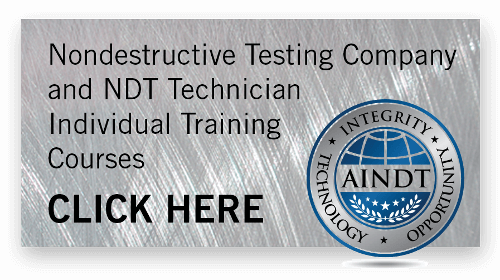 Company Training Non Destructive Testing