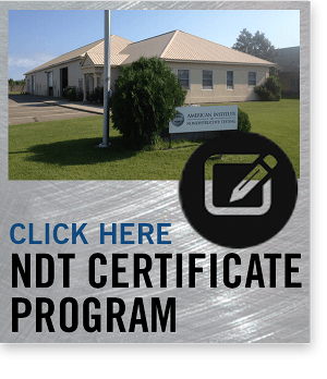 What is NDT? | Nondestructive Testing School | 855-313-0325