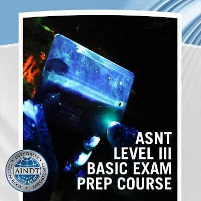 ASNT Level III Basic Exam Materials