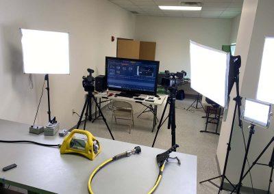 Filming Studio Behind the Scenes