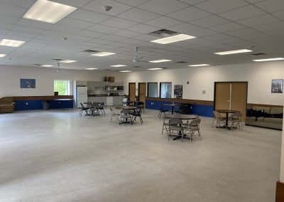 Student lounge - Cafeteria wide view