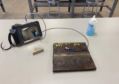 Testing device setup