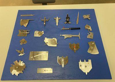 Metal implements