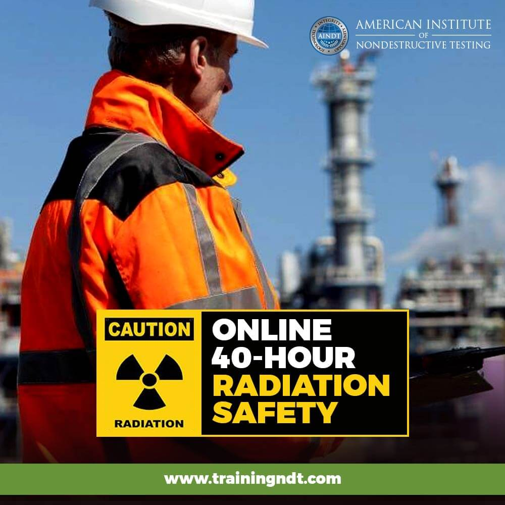 Online 40-hour Radiation Safety