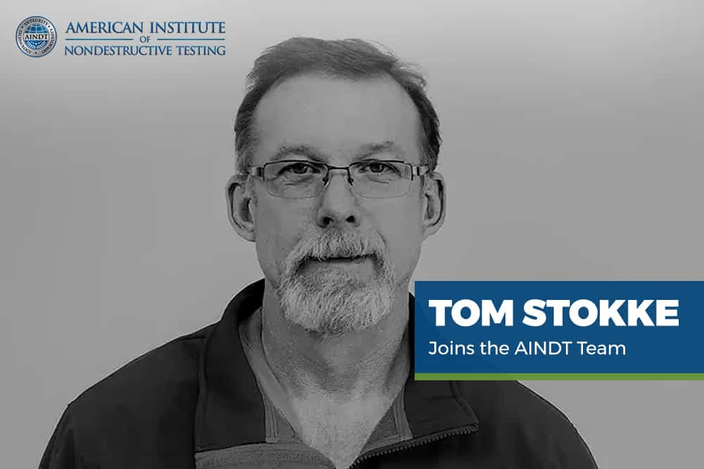 Tom Stokke Joins the AINDT Team