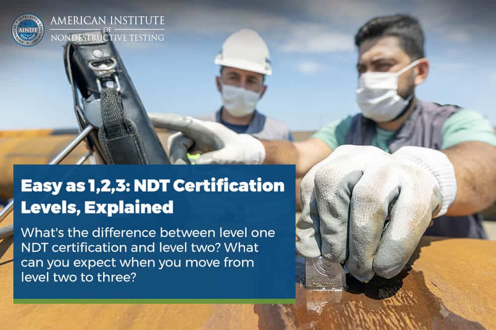 Easy as 1,2,3: NDT Certification Levels, Explained