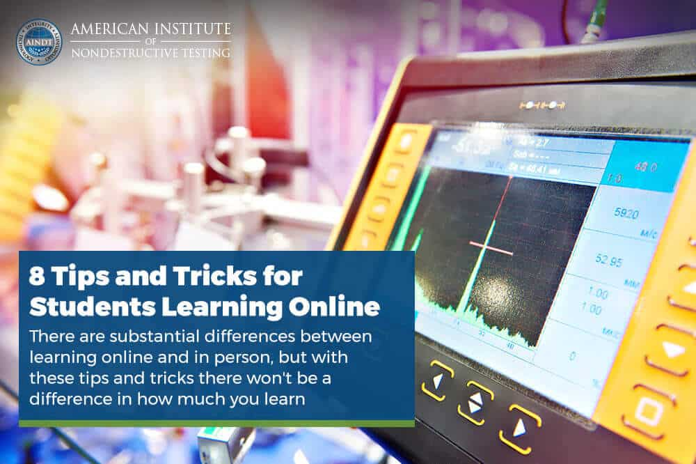 8 Tips and Tricks for Students Learning Online