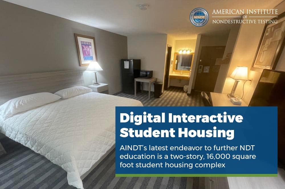 "AINDT unveils new ""Digital Interactive Student Housing"""