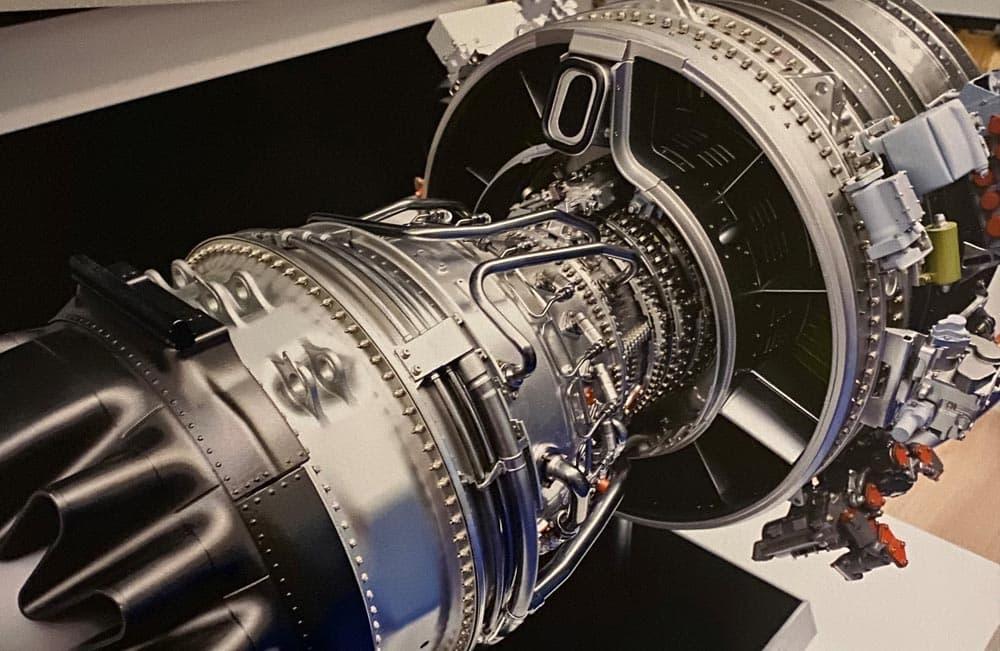 Large Engine
