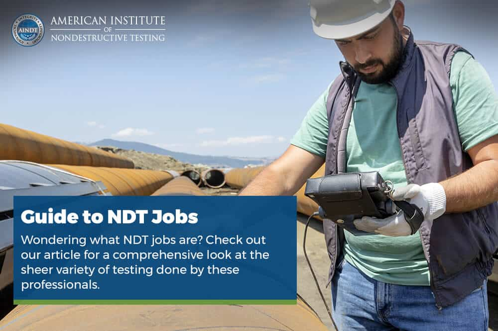 Guide to NDT Jobs